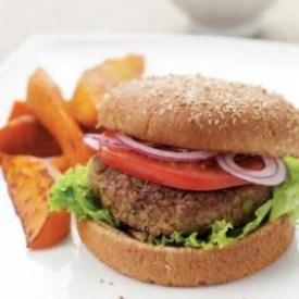 gezond broodje hamburger