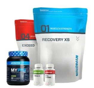 fitness cadeaus van Myprotein