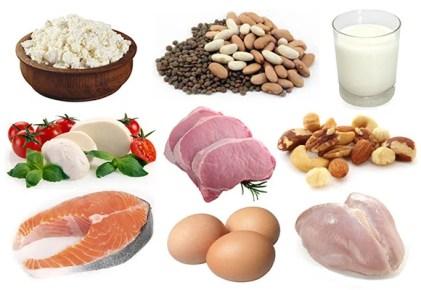 eiwitrijke voedingsmiddelen