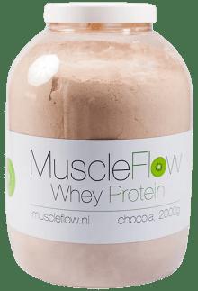 muscleflow eiwitshake