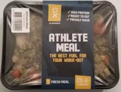 Ox Nutrition meals