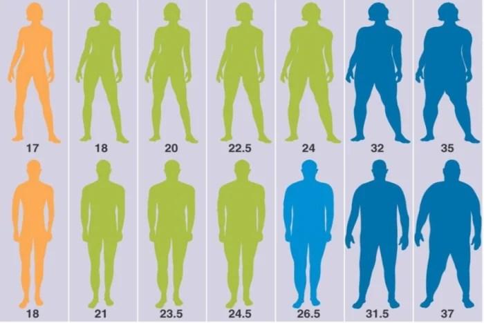 Overgewicht berekenen - 4 methoden | Voeding-en-fitness.nl