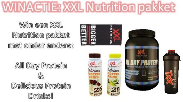 xxl nutrition winactie