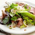 Gegrilde biefstuksalade recept