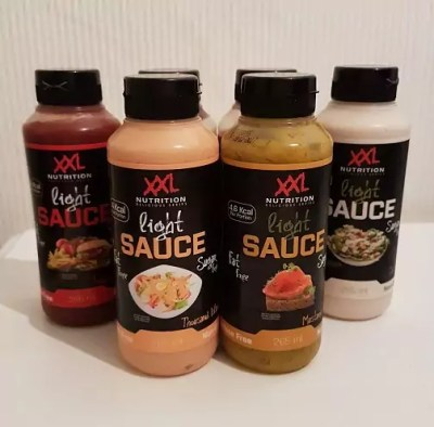 xxl nutrition light saus review