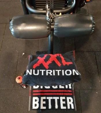 xxl nutrition fitness handdoek