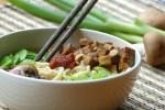 RECEPT: Vegetarische noedelsoep met tofu