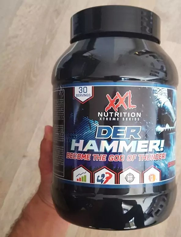 der hammer review xxl nutrition