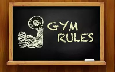 sportschool regels