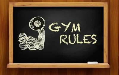 10 sportschool regels