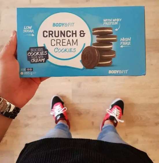 crunch a cream cookies review
