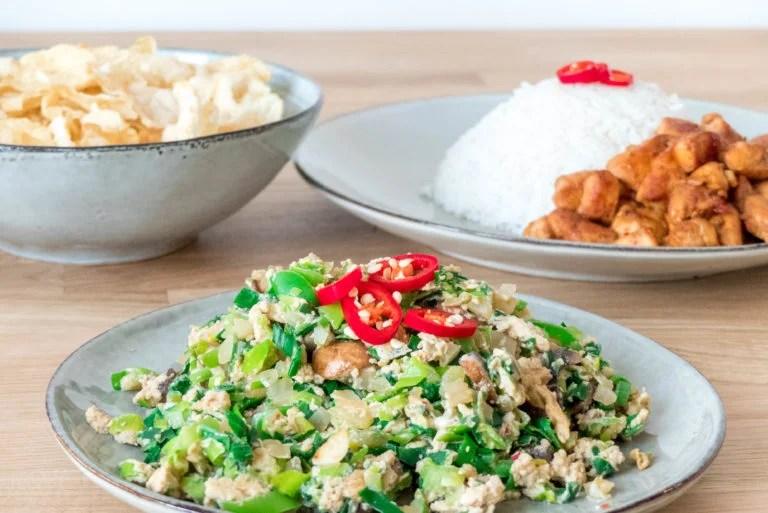 orak arik recept indisch groenten gerecht