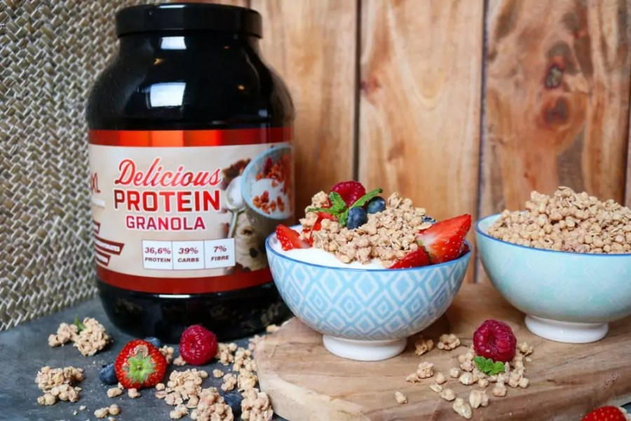 delicious protein granola review