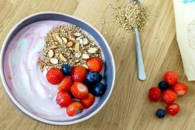 griekse yoghurt quinoa