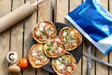 recept eiwit pizza