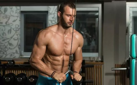 tricep cable pushdown