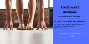 Workshop voetenwerk