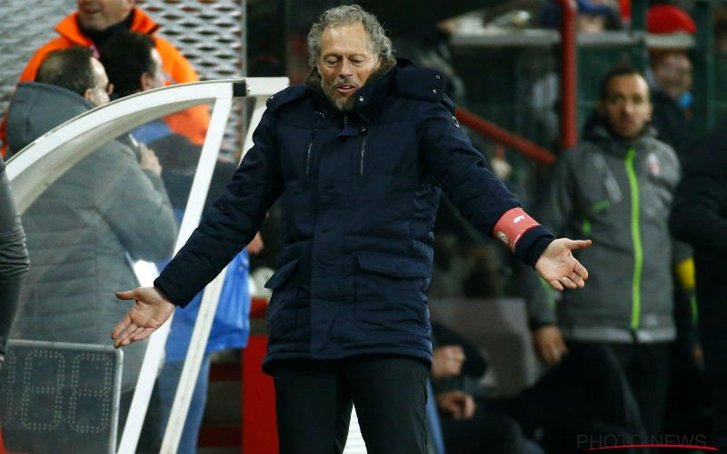 Preud'homme ergert zich kapot, maar Standard verliest opnieuw punten