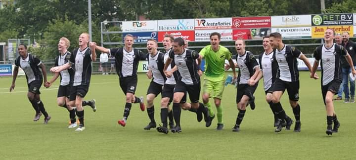 Finalewedstrijd vv Assendelft-Kolping Boys op complex DEM in Beverwijk