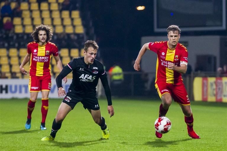 Knap punt Jong AZ bij Go Ahead Eagles