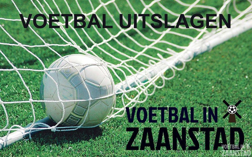 Voetbaluitslagen zondag 1 december