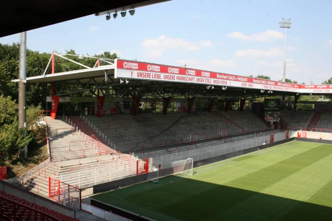 Het Stadion an der Alten Försterei, voetbalstadion van Union Berlin uit de voetbalstad Berlijn