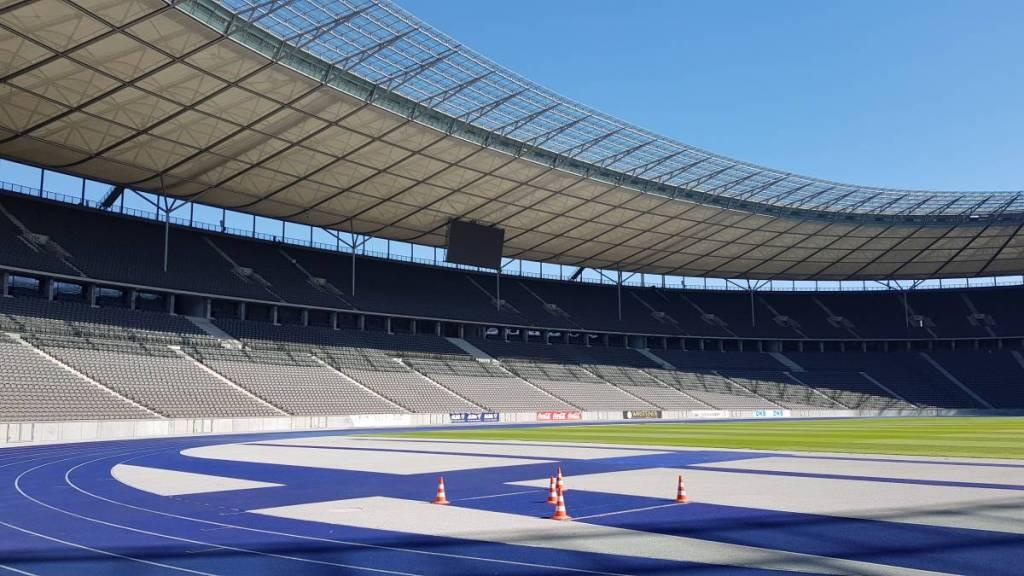 Olympisch Stadion, de thuishaven van Hertha BSC. De tweede stop tijdens onze voetbalreis naar Berlijn