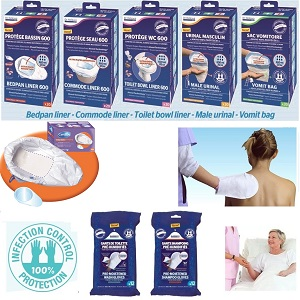Dr Helewa продукти торбички с абсорбатор и мокри ръкавици за коса и тяло