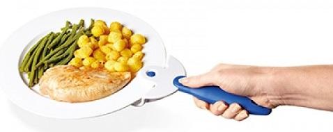 Дръжка за хващане на чиния
