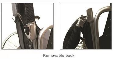 Алуминиеви леки инвалидни колички, детайл