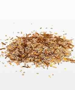 Strooivoer High Energy & No Mess met Meelwormen