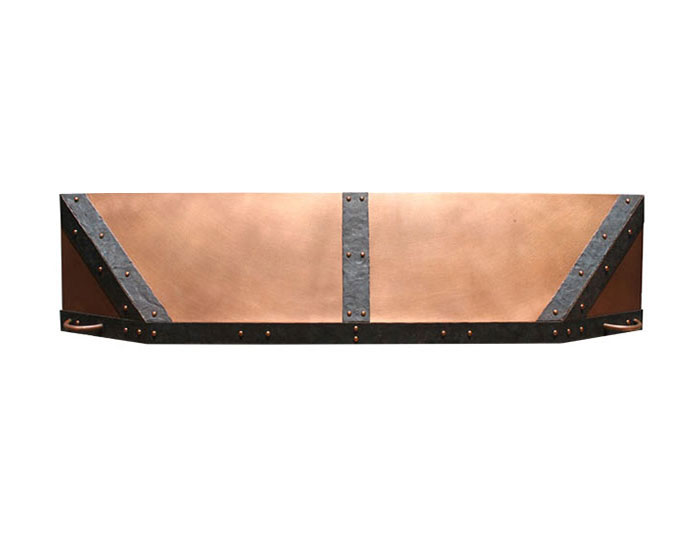 antique kitchen sinks l shaped island custom fireplace hoods | copper, steel, hand forged ...