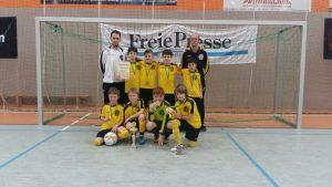 Hallenpokalsieger bei den E-Junioren gekürt – VFC gewinnt Sparkassencup