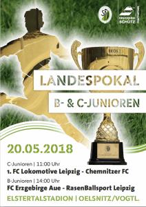 Oelsnitz Gastgeber für Pokalendspiele der C- und B-Junioren im SFV