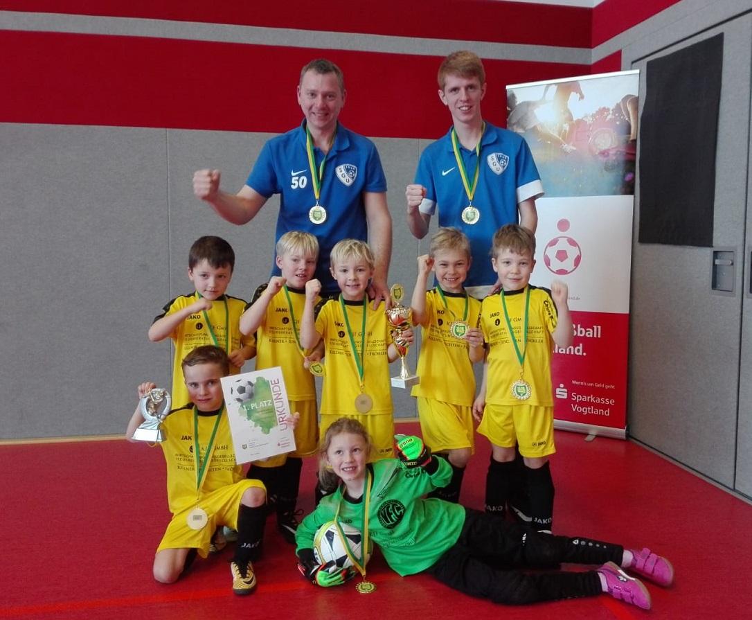 Sparkassencupsieger G-Junioren – SpG SG Unterlosa/VFC Plauen