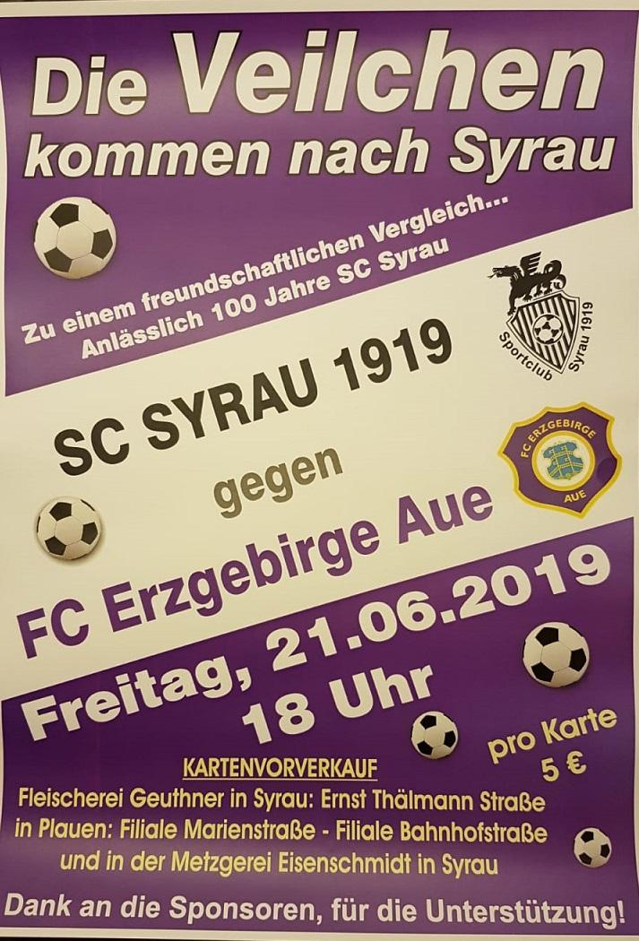 Drei tolle Testspiele in dieser Woche – Syrau trifft auf Aue , Rodewisch auf den FSV Zwickau, Erlbach auf Auerbach