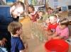 Musikstunde im Kindergarten Freundschaft