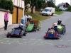 Seifenkistenflitzer auf der Waltersdorfer Ortsdurchfahrt