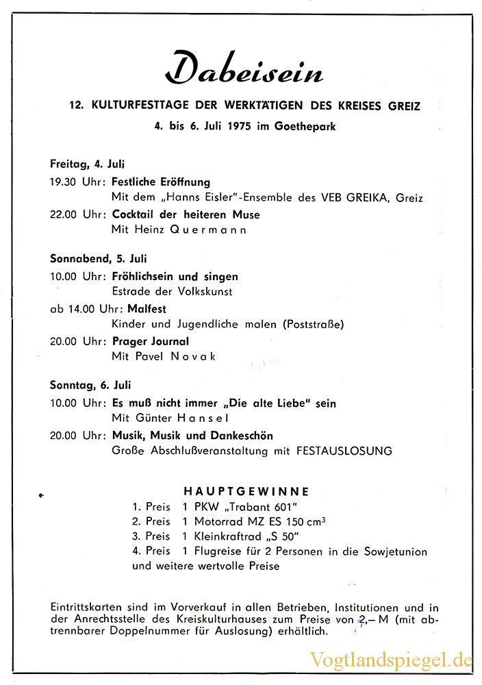 Greizer Heimatbote Juli 1975