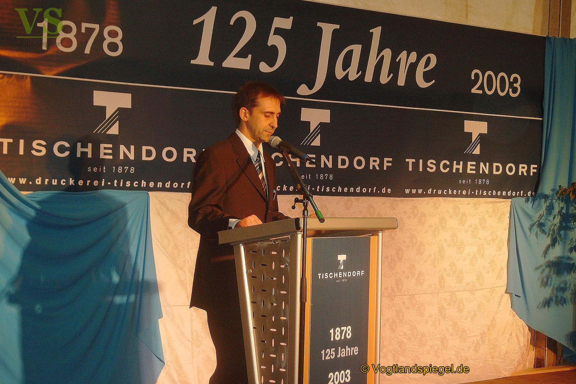 125 Jahre Tischendorf