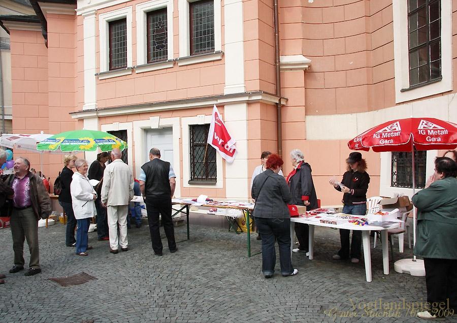 Maikundgebung in Greiz