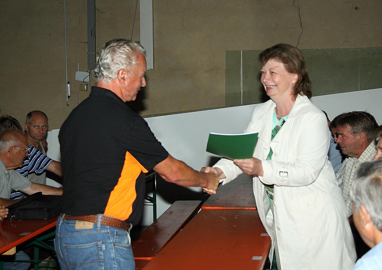 Landrätin Martina Schweinsburg