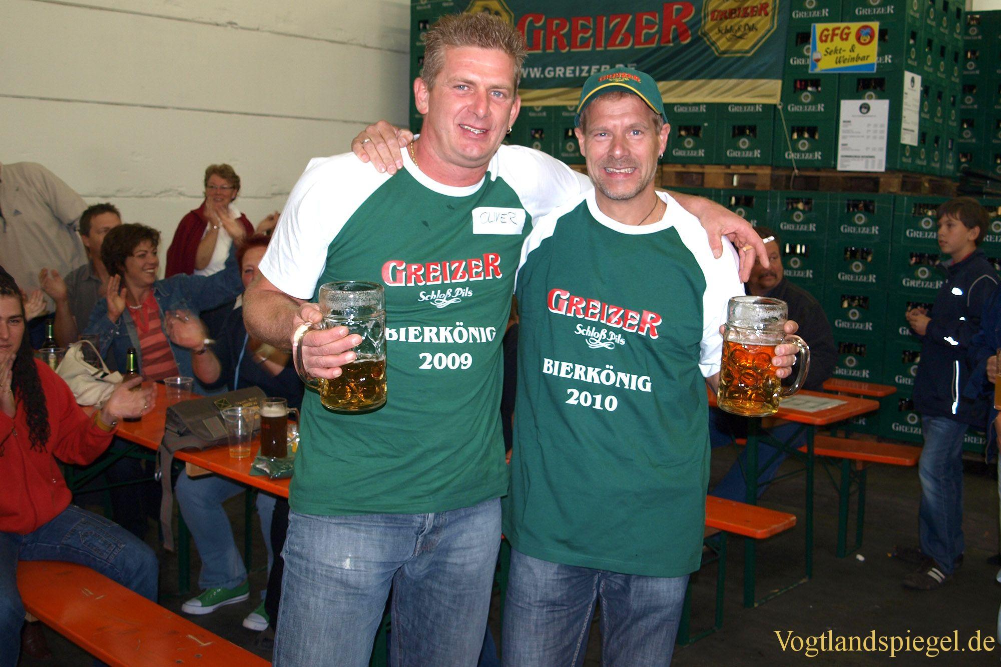 Uwe Port ist neuer Bierkönig 2010