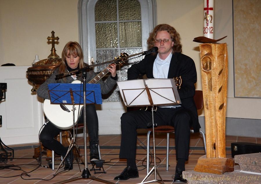 Nicole Scharrenweber und Marc Saase