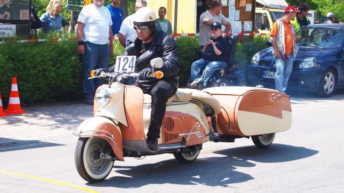 Historischer Rennsportclub Greiz-Neumühle im ADAC hatte zum 23. Fahrertreffen nach Neumühle/Elster eingeladen