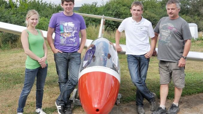 Meisterschaften im Streckensegelfliegen in Greiz-Obergrochlitz