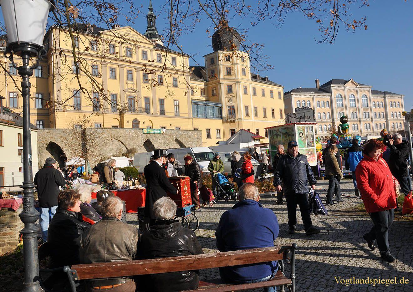 Großer Herbstmarkt zum Buß- und Bettag im Greizer Schlossgarten