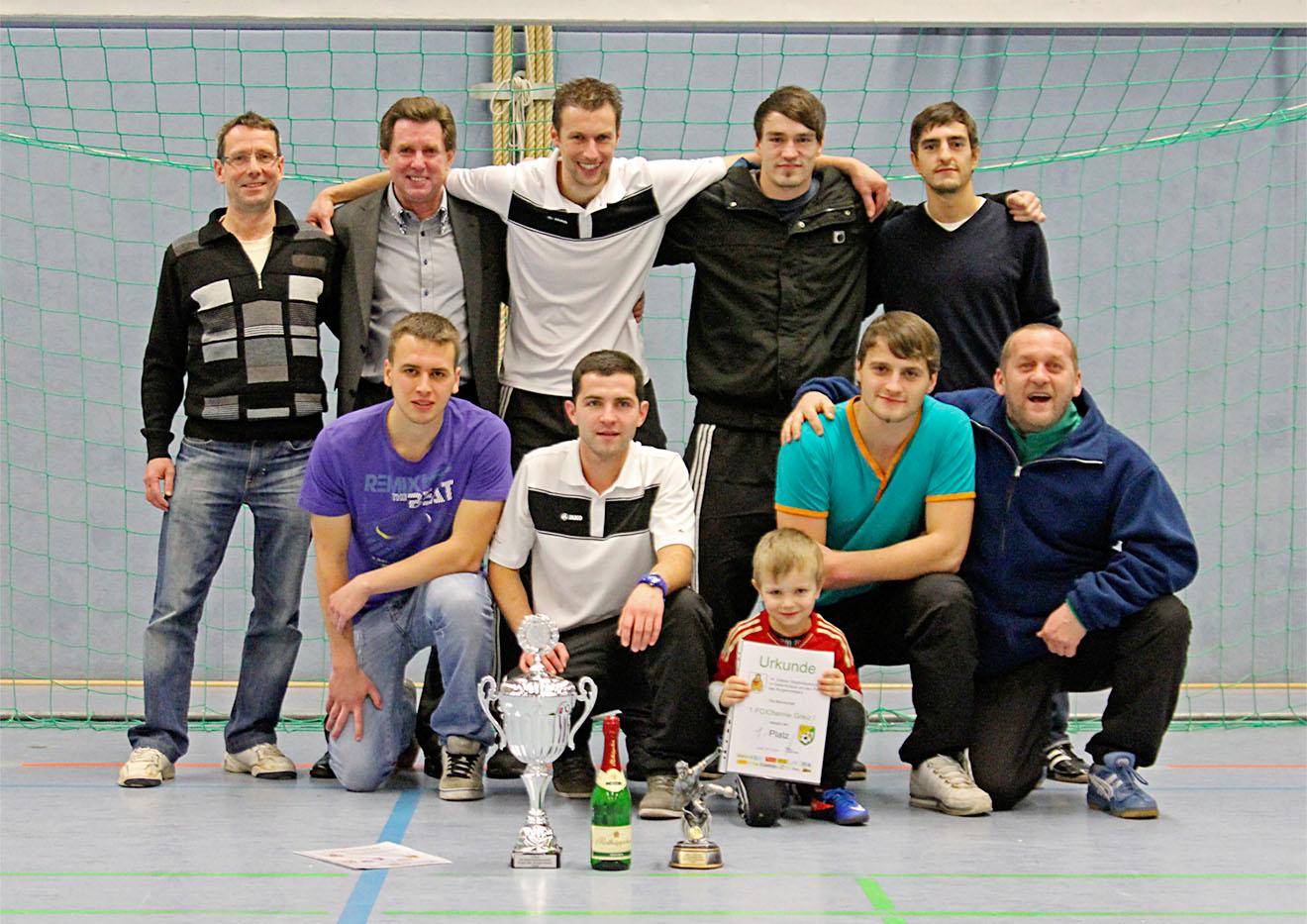 Sieger der Stadtmeisterschaft ist der 1.FC Greiz