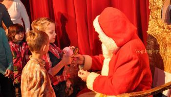 Wir warten auf den Weihnachtsmann in der Greizer Vogtlandhalle