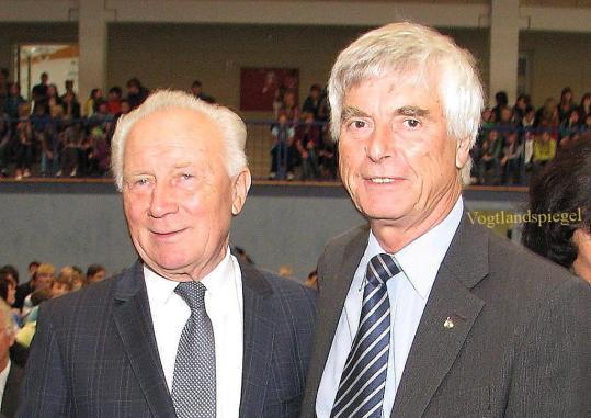 Sigmund Jähn und Ulf Merbold